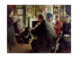Steer at Home, 109 Cheyne Walk (On Christmas Eve) c.1929-30 Giclee Print by Henry Tonks