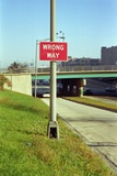 Wrong Way, Chicago, 1994 Photographic Print