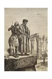 Ibn Battuta in Egypt Giclee Print by Hippolyte Leon Benett