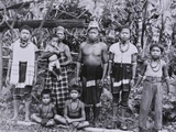 Kelabit People c.1950 Photographic Print