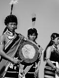 Naga People, Assam Photographic Print