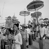 Temple Procession Photographic Print