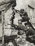 German Snipers, 1941 Photographic Print by  German photographer
