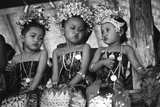 Children in Traditional Dresses Photographic Print