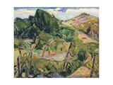 Landscape, c.1916 Giclee Print by Alfred Henry Maurer