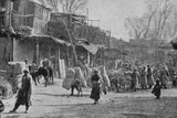 A Scene in the Streets of Yarkand, Illustration from 'The King', May 25th 1901 Photographic Print by  English Photographer