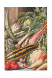Garden Vegetables, Illustration from 'Garden Ways and Garden Days' Giclee Print by Louis Fairfax Muckley