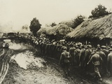 Russian Prisoners Near Kiev, 1941 Photographic Print by  German photographer