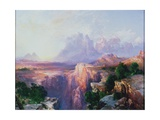 Rock Towers of the Rio Virgin, 1908 Giclee Print by Thomas Moran