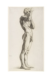 A Study of a Male Figure, 1906 Giclee Print by Derwent Lees