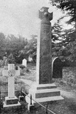 Memorial Cross over John Ruskin's Grave, Illustration from 'The King', June 1st 1901 Photographic Print by  English Photographer