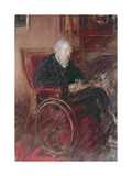 Henry Tonk's Father in a Wheelchair Giclee Print by Henry Tonks