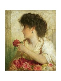 A Summer Rose, 1910 Giclee Print by George Elgar Hicks