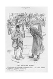 That Agitated Street, Illustration from 'The King', May 25th 1901 Giclee Print by Warwick Reynolds