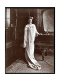 Portrait of Mrs. I. M. Clark Standing by a Piano, 1904 Giclee Print by  Byron Company