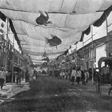 The Decorations in the Main Street, Singapore, Illustration from 'The King', May 25th 1901 Photographic Print by  English Photographer