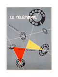 Advertisement for the Telephone, c.1937 Giclee Print by  Chol