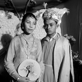 Wedding Portrait of the Son of the Sultan of Ternate, 1974 Photographic Print