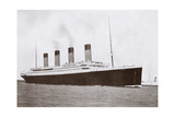 RMS Titanic of the White Star Line Giclee Print by  English Photographer