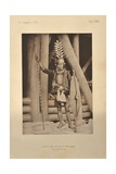 Nias Chieftain, from 'Viaggio a Nia', 1900 Giclee Print by Elio Modigliani