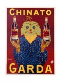Advertisement for Chinato Garda, c.1925 Giclee Print by  Bouchet
