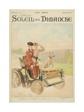 End of Summertime, the Ride, from the Cover of 'Soleil Du Dimanche', Sunday 20th October 1901 Giclee Print by Julius Leblanc Stewart