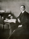 Guglielmo Marconi, from 'The Year 1912', Published London, 1913 Photographic Print by  English Photographer