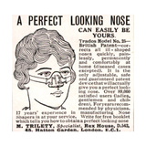 Advertisement for a 'Nose Shaper', 1900s Giclee Print by  English School