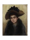 Miss Violet Armstrong, c.1910 Giclee Print by Ruth Garrett