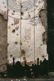 Mural, Lebanese Civil War, 1994 Photographic Print