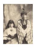 Susan and Ngapuia, c.1900 Giclee Print by Josiah Martin