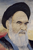 Portrait of Ruhollah Musawi Khomeini (1902-1989), 1994 Photographic Print