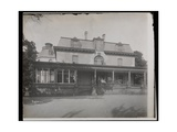 People Standing on the Porch of the Astor Chanler Residence at Barrytown, New York, 1907 Giclee Print by  Byron Company