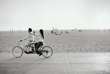 Tandem Bike, Venice Beach, CA, 2006 Papier Photo