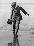 Thomas E. Grant in Biarritz, 1910 Photographic Print by Thomas E. & Horace Grant
