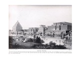 Nineveh Restored, Illustration from 'Hutchinson's History of the Nations' Giclee Print by Sir Austen Henry Layard