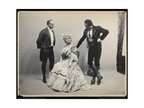 Portrait of Opera Singer Antonio Scotti with an Unidentified Man and Woman  Giclee Print by  Byron Company