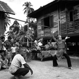 Silat, the Malay Martial Art, 1973 Photographic Print