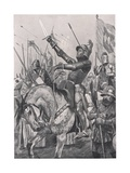 The Death of Henry Hotspur, 21st July 1403, Illustration from 'British Battles on Land and Sea',… Giclee Print by Richard Caton Woodville