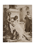 The Death of Demosthenes, Illustration from 'The Outline of History' by H.G. Wells, Volume I,… Giclee Print by  Bramtott
