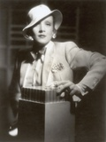 Portrait of Marlene Dietrich, 1935 Photographic Print by  German photographer