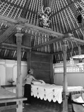 Bedroom of a Balinese House Photographic Print