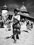 Chakalele War Dance, 1974 Photographic Print