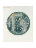 The Flower Book: XXXIV. White Garden, 1905 Giclee Print by Sir Edward Coley Burne-Jones