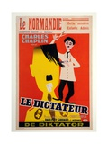 Poster Advertising 'Le Dictateur' Giclee Print by  Belgian School