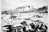 Dead Bodies and Equipment Lie Scattered on a Beach in Front of a German Bunker, 6th June 1944 Photographic Print by  English Photographer