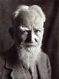 Portrait of George Bernard Shaw, February 1933 Photographic Print by  English Photographer