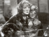 """Still from the Film """"Blonde Venus"""" with Marlene Dietrich and Dickie Moore, 1932 Photographic Print by  German photographer"""