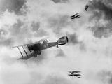 World War One Aircraft, 1916-17 Fotografie-Druck von  English Photographer