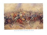 The 12th Light Dragoons at Salamanca, July 22nd 1812 Giclee Print by Bernard Granville-Baker